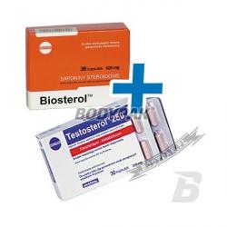 Megabol Testosterol 250 - 30 kaps. + Biosterol - 36 kaps.