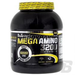 BioTech Mega Amino 3200 - 500 tabl.