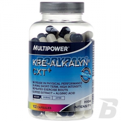 Multipower Kre-Alkalyn CXT+ - 102 kaps.
