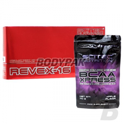 Scitec Revex 16 - 108 kaps.+ BCAA Xpress - 70g