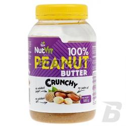 Ostrovit NutVit 100% Peanut Butter Crunchy - 500g