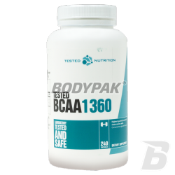 Tested Nutrition BCAA 1360 - 240 kaps.