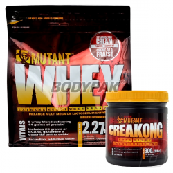 PVL Mutant Whey – 2,72kg + PVL Creakong - 300g