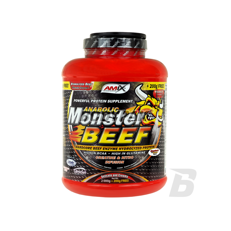 amix anabolic monster beef protein forum