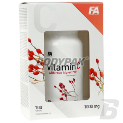 FA Vitamin C with Rose Hip Extract - 100 tabl.
