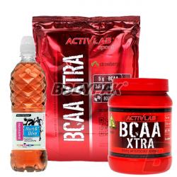 Activlab BCAA Xtra – 800g + 500g + Run & Bike Electrolytes - 700ml [GRATIS]