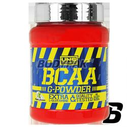 UNS BCAA G-Powder - 600g