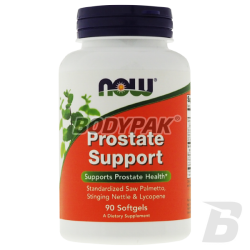 NOW Foods Prostate Support - 90 kaps.