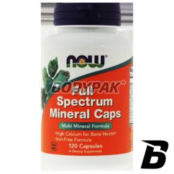 NOW Foods Full Spectrum Minerals Caps - 120 kaps.