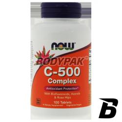 NOW Foods Vitamin C-500 Complex - 100 tabl.
