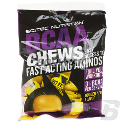 Scitec BCAA Chews - 30 tabl.