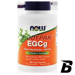 NOW Foods EGCg 400mg - 180 kaps.