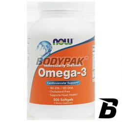 NOW Foods Omega 3 - 500 kaps.