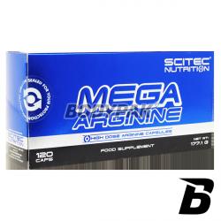 Scitec Mega Arginine - 120 kaps.