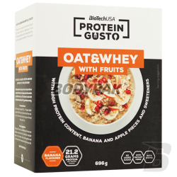 BioTech PROTEIN GUSTO Oat & Whey with Fruits - 696g