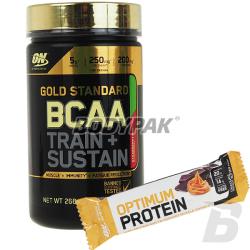 ON Gold Standard BCAA [Train + Sustain] - 266g + ON Protein Bar - 60g GRATIS