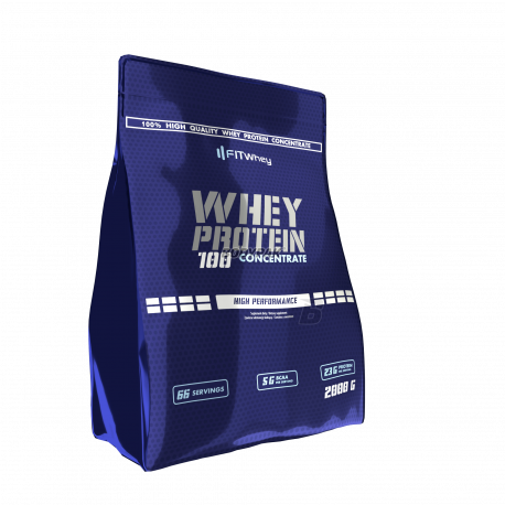 FitWhey Whey Protein 100 Concentrate - 1500g+500g GRATIS