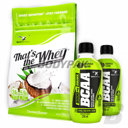 Sport Definition That's The Whey - 700g + 2x BCAA 5500 DRINK - 250ml GRATIS