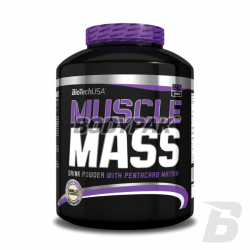 BioTech Muscle Mass - 2270g