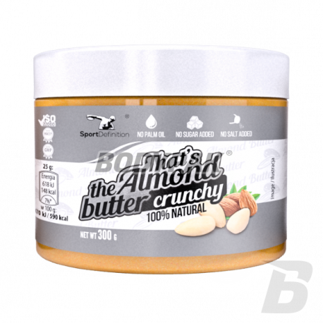 Sport Definition That's the Almond Butter Crunchy - 300g