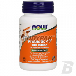 NOW Foods Probiotic-10 100 Billion - 30 kaps.