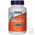 NOW Foods Omega 3 Enteric - 90 kaps.