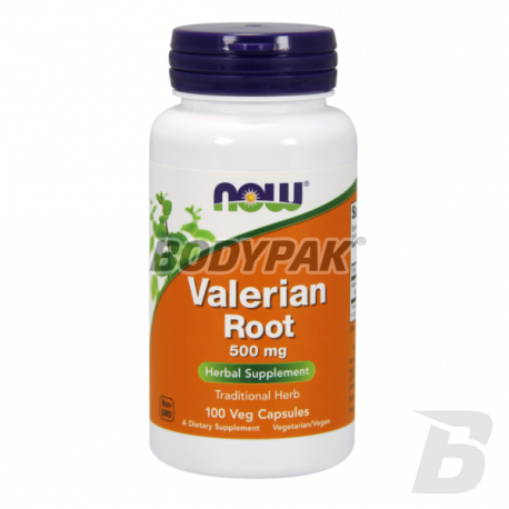 NOW Foods Valerian Root 500mg - 100 kaps.
