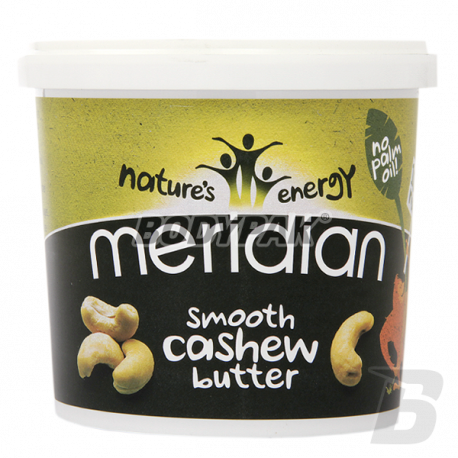 Meridian Natural Cashew Butter Smooth - 1kg
