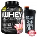 MuscleTech 100% Whey Advanced - 2,27kg + BODYPAK Shaker black MACHINES 700ml - 1 szt. GRATIS