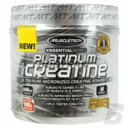 MuscleTech Platinum Micronized Creatine - 402g