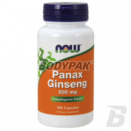 NOW Foods Panax Ginseng - 100kaps.