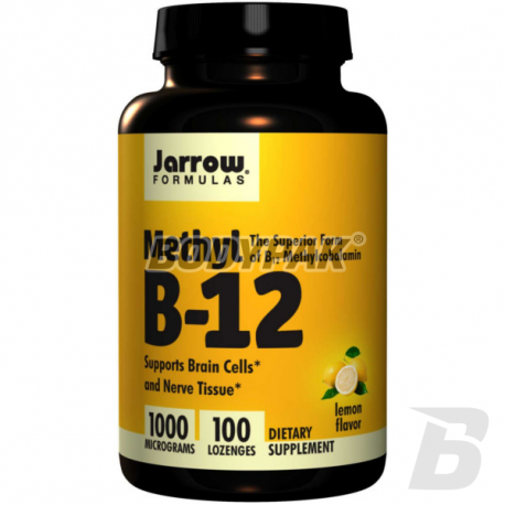 Jarrow Methyl B-12 1000mcg - 100 kaps.