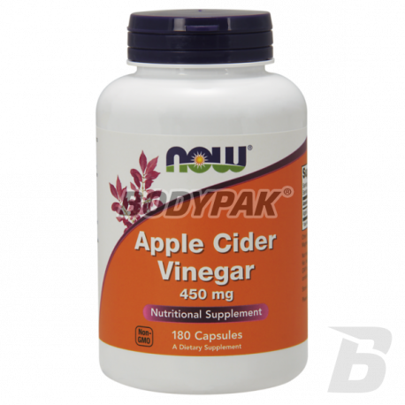 NOW Foods Apple Cider Vinegar 450mg - 180 kaps.