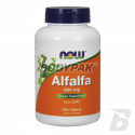 NOW Foods Alfalfa 650mg - 250 tabl.
