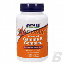 NOW Foods Advanced Gamma E Complex - 120 kaps.