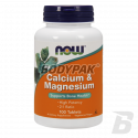 NOW Foods Calcium Magnesium - 100 tabl.