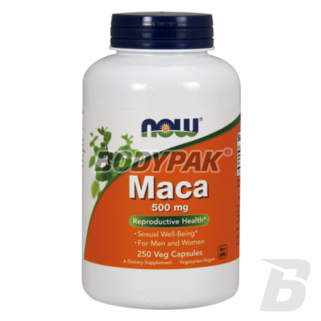 NOW Foods Maca 500mg - 250 kaps.