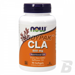 NOW Foods CLA 800mg - 90 kaps.