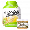 Sport Definition That's The Whey - 2,27kg + That's the Peanut Butter Crunchy- 300g GRATIS