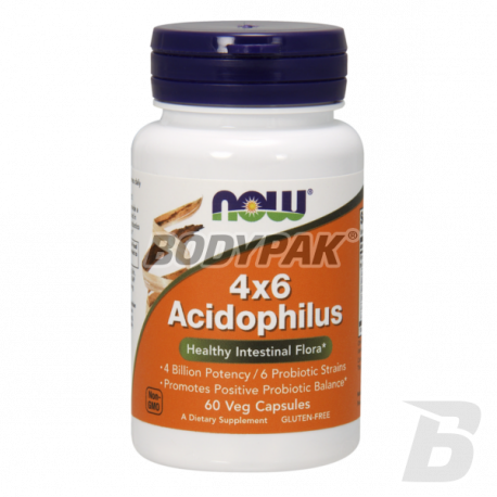NOW Foods Acidophilus 4X6 - 60 kaps.