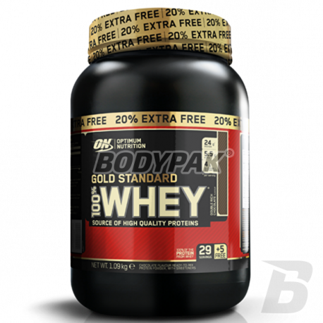 ON 100% Whey Gold - 908g + 20% FREE