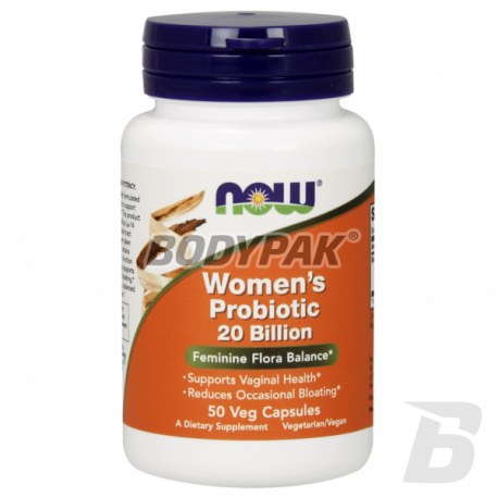NOW Foods Women's Probiotic 20 Billion 50 kaps.