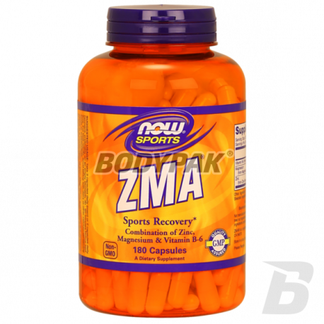 NOW Foods ZMA Sports Recovery - 180 kaps.