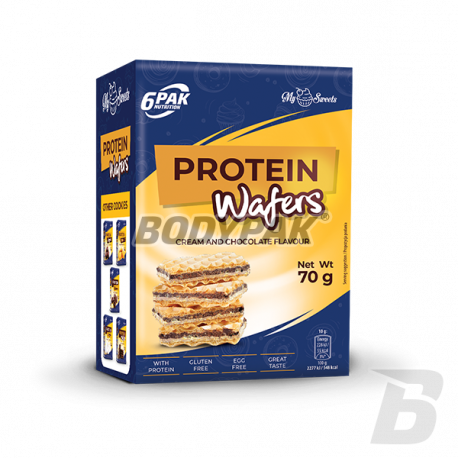 6PAK Nutrition Protein Wafers - 70g