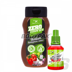 Sport Definition Sauce ZERO [Italian Bolognese] - 320ml + That's the Flavour Drops - 30ml (06.2018) GRATIS!