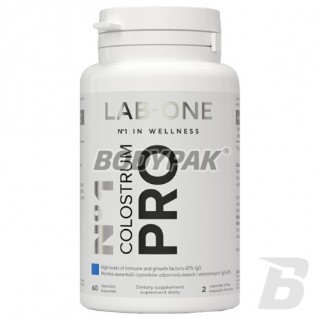 Lab One Colostrum Pro - 60 kaps.
