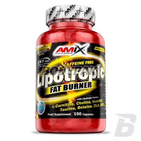 Amix Lipotropic Fat Burner - 100 kaps.