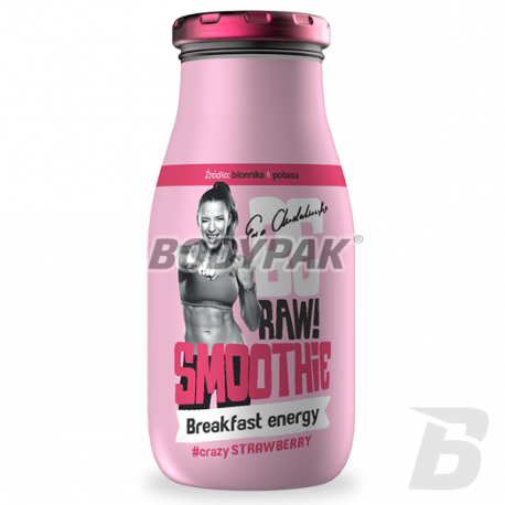 BE RAW! Smoothie Breakfast Energy (truskawka) - 250ml