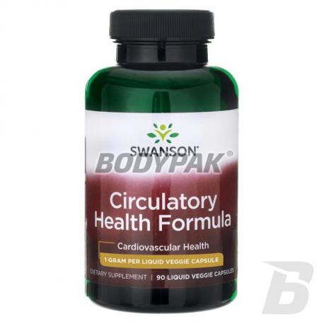Swanson Circulatory Health Formula 1000mg - 90 kaps.
