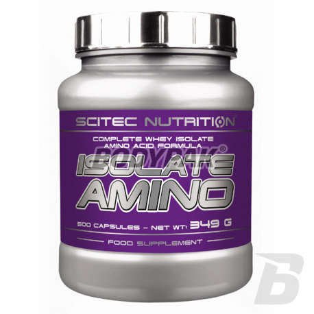 Scitec Isolate Amino - 500 kaps.